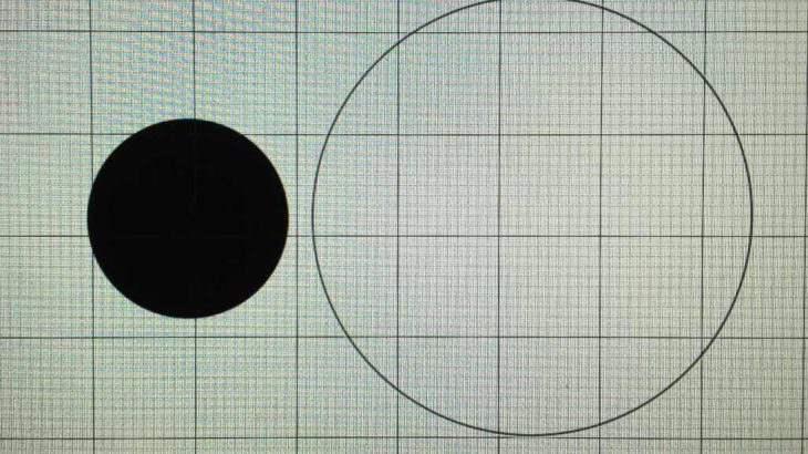 Pixelmator Proでカーソルと描画のサイズがずれた時の直し方