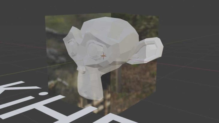 【Blender 2.8】オブジェクトをガラスみたいに透明にする方法【簡単】